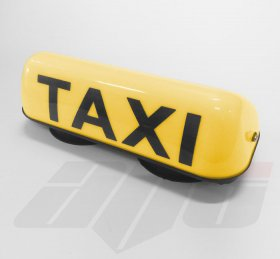 "14"" Illuminated 12v Taxi Roof Top Light YELLOW"