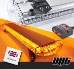 "AVT 1200mm / 47"" LED 12v Amber Recovery Light Bar & Switch Box"