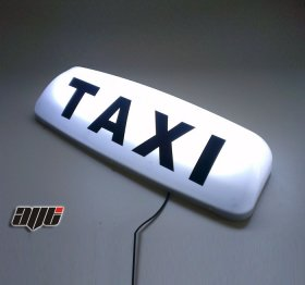 "24"" Illuminated 12v Taxi Roof Top Light WHITE"