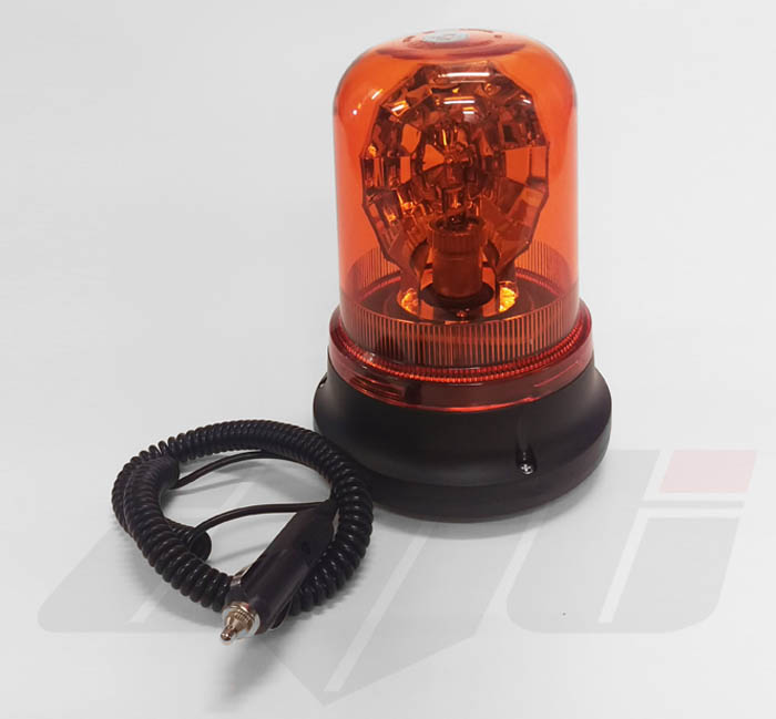 AVT Magnetic Rotating Halogen Flashing Beacon 12V Extra Long Lead